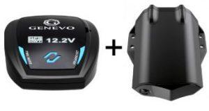 Genevo HDM+GPS. Detector de radar de instalación
