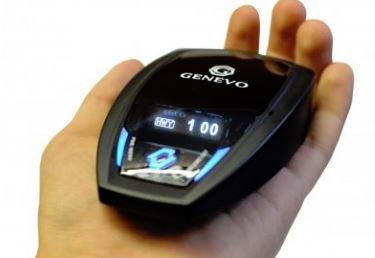 Detector de radar y avisador Genevo GPS+