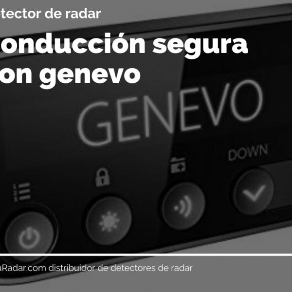 Genevo PRO detector de radar de instalación. SuRadar detectores de radar antiradar Genevo. Previene de multas y pérdida de puntos. Conducción segura con Genevo.