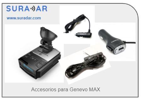 Accesorios para Genevo MAX